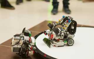 Рекомендации по сборке и программированию Lego робота-сумоиста EV3
