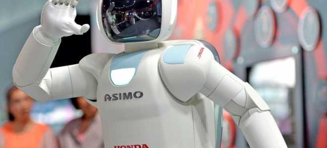 Робот ASIMO: легендарный андроид японской компании Хонда