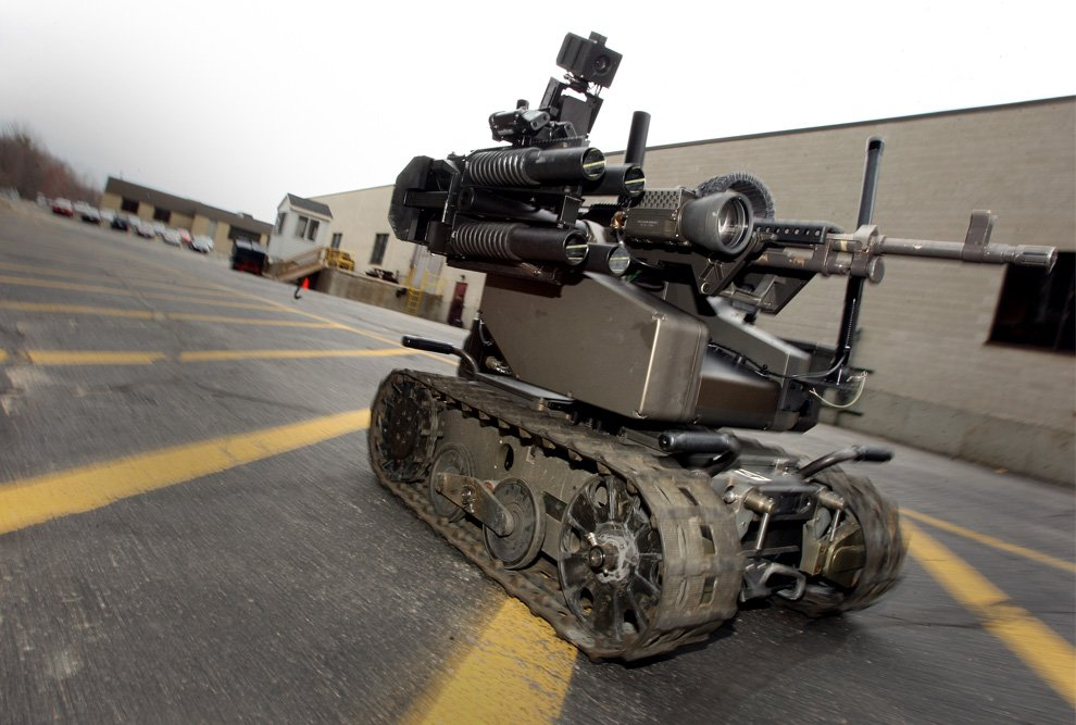 Боевой робот