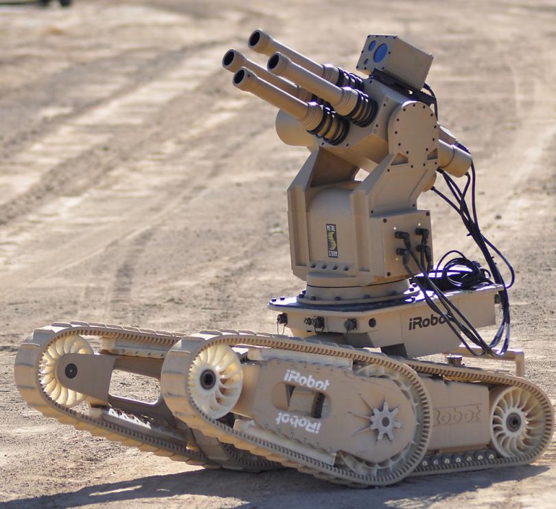 Военный робот iRobot