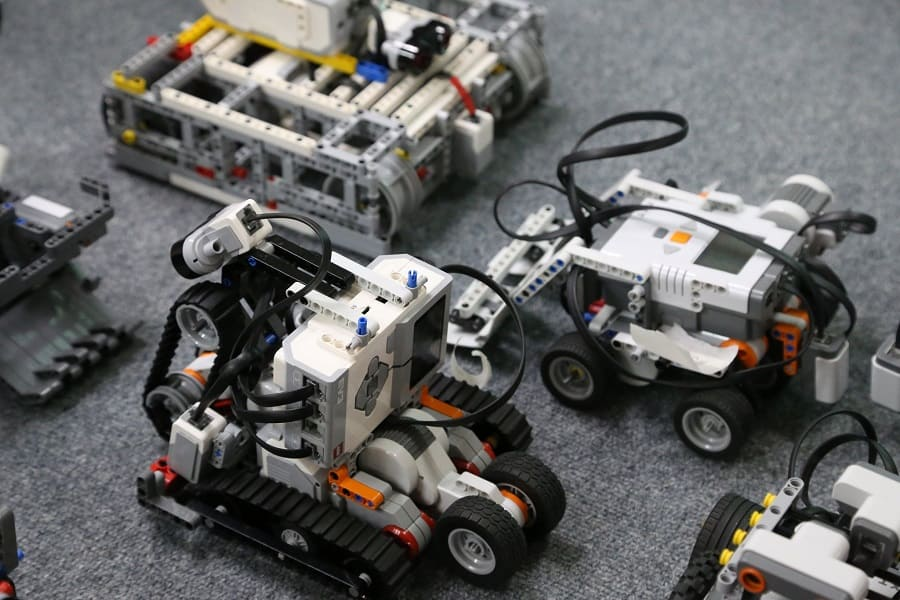 Сборка роботов для сумо