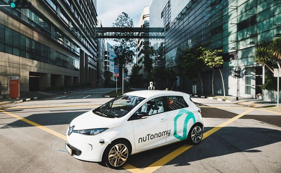Беспилотный автомобиль nuTonomy