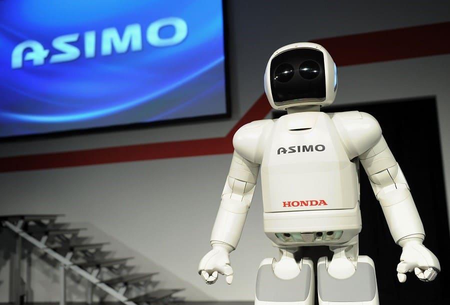 Last gen ASIMO 2014