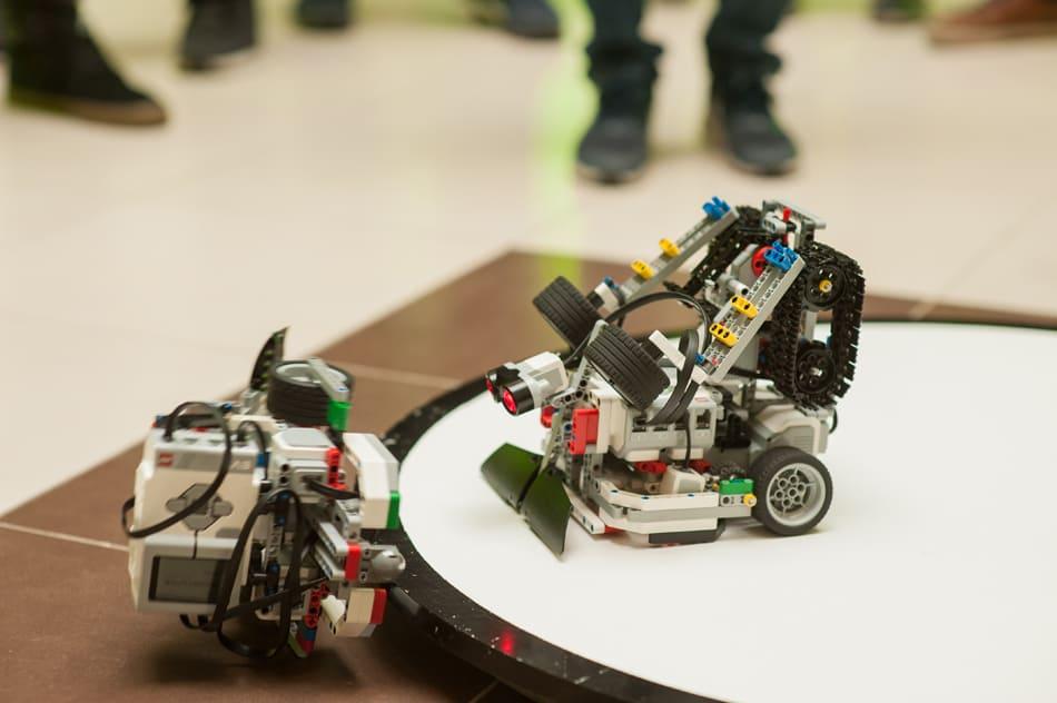 Роботы сумо EV3