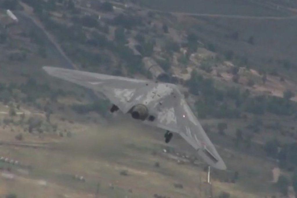 Первый полет Охотника С-70