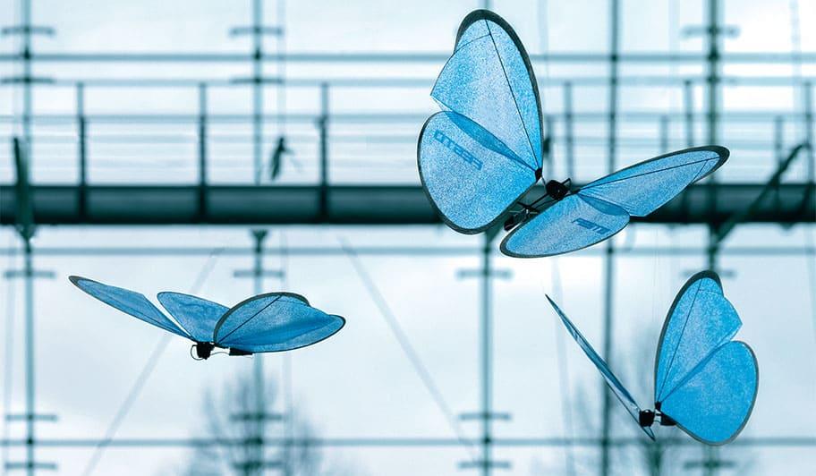 Робот-бабочка Festo