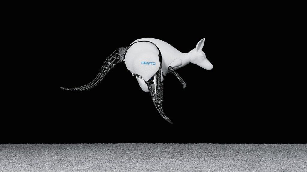 Робот-кенгуру Festo