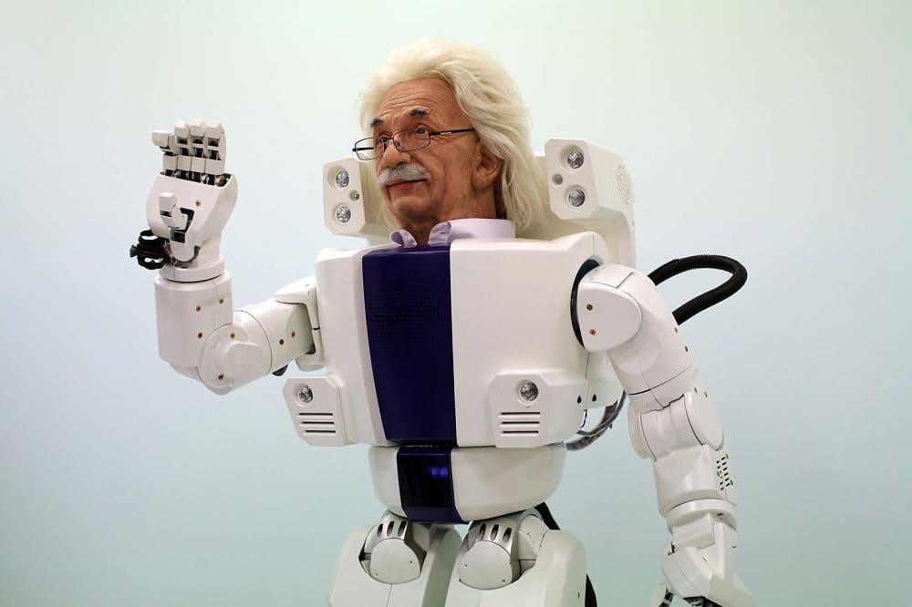Робот Энштейн