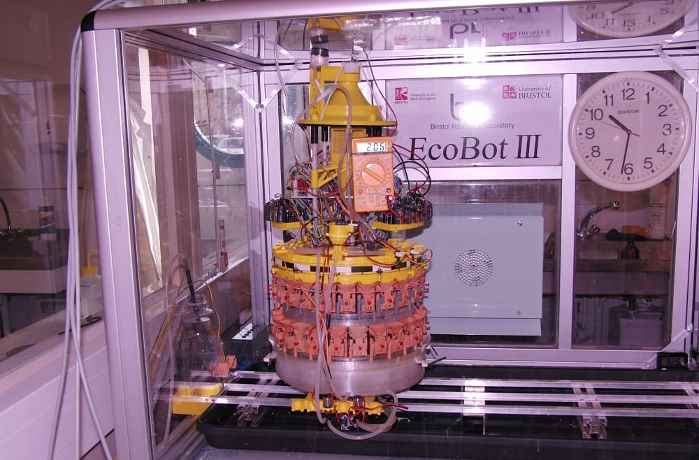 Робот-пожиратель насекомых